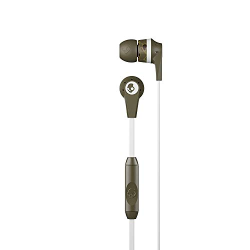 Skullcandy Ink'd 2.0 in-Ear Earbud - Camo, Green