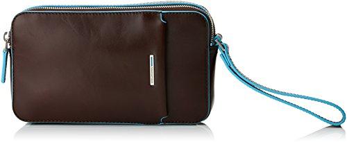 Piquadro ,  Unisex-Erwachsene portemonnaie, Braun - Braun (Mogano MO) - Größe: 5x12x21 cm (W x H x L)