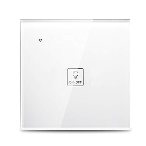 Decdeal Smart WiFi Interruptor táctil Inalámbrico, Alexa/Google...