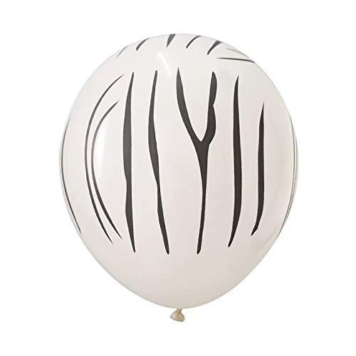 Buy Utini 50/100pcs 12inch 3.2g Animal Latex Balloons Tiger Zebra Dog Leopard Birthday Theme Party B...