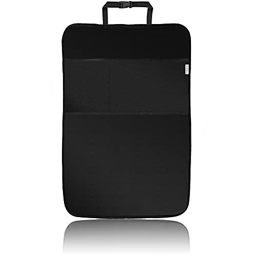 ECENCE 1x Coprisedile per bambini, copertura per sedile posteriore 50 x 70 cm, portaoggetti impermeabile, borsa per auto, tappetino protettivo