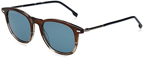 Hugo Boss Boss 1121/S Gafas de Sol, Brown Horn, 51 para Hombre