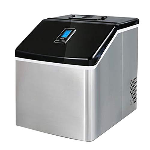 Ice Makers YX Eismaschine Haushalts- und gewerbliche Eismaschine mit doppeltem Verwendungszweck Schnelle Eisherstellung Kleine Eistee-Laden Fang Bing Home Stehtisch Ice Cube Ice Machine