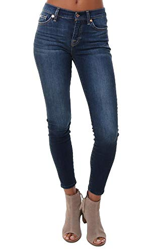 7 For All Mankind B(Air) Ankle Skinny Jeans in Fate Fate 31 27