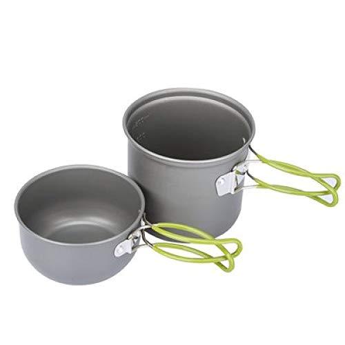 Aluminium Draagbare kleine pot