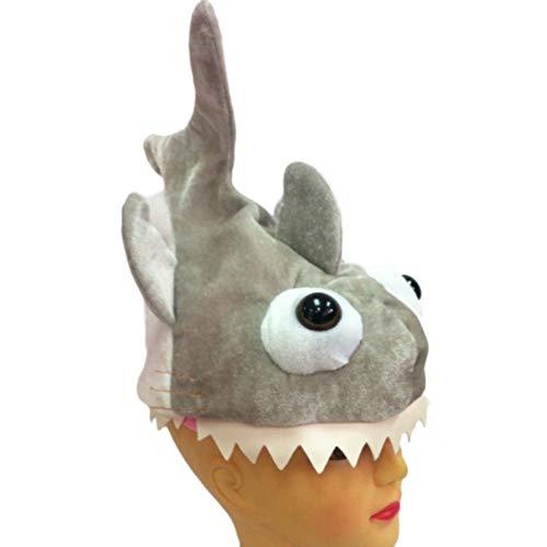 Bozaap Shark Attack Bite - Disfraz unisex de peluche, diseo de pez