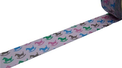 Roze Rocking Horse Washi Decoratieve Tape