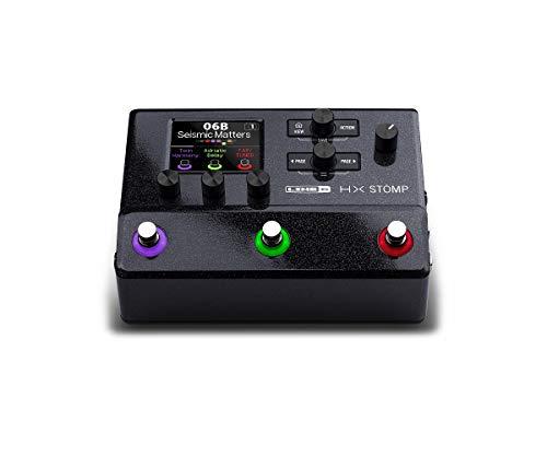 Line 6 マルチエフェクター HX Stomp 超コンパクトなプロフェッショナル・ギター・プロセッサー 300種類以上のエフェクトとアンプ・モデル オーディオインターフェイス機能