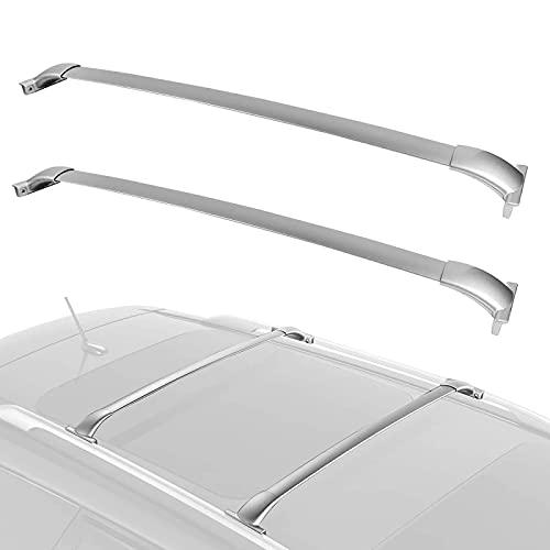 Portapacchi per Auto Stile OE Portapacchi Cargo Cross Bar Rail Top Barre trasversali di bloccaggio in Alluminio per Nissan Pathfinder 2013-2019