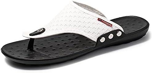 Men's Flip-Flops, Thongs Sandals Durable Comfort Slippers for Beach