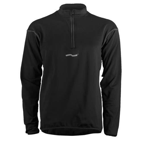 TAO Sportswear T-Shirt à Manches Longues pour Femme Basic M2003 46 Noir