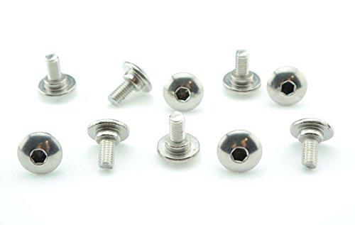 Tech-Parts-Koeln 10 Verkleidungsschrauben Aprilia RS 50 125 RS4 rostfreier V2A Edelstahl V2A silber