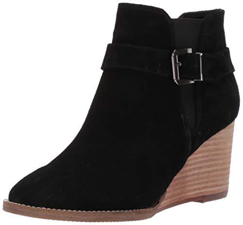 Blondo Women's Natalia Waterproof Ankle Boot, Black Suede, 8.5 M US