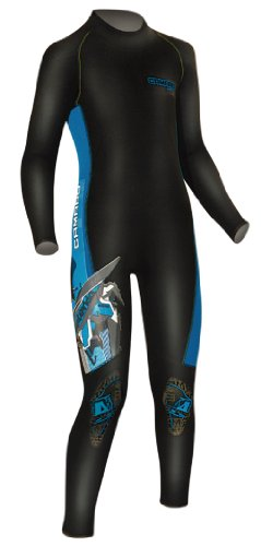 Camaro - Neopreno de Surf Infantil, tamaño 140 UK, Color Negro