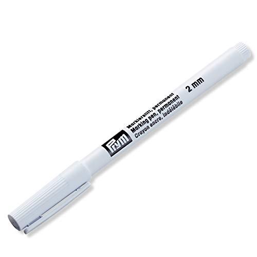 Prym Markierstift permanent 2 mm schwarz, One Size