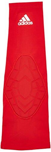 adidas, bracciale imbottito da uomo, taglia XL, colore: rosso SLD-S05359