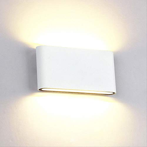 UK 8 DEL moderne Up Down Wall Sconce Light Home Yard Porche 8 W Couloir Lampe