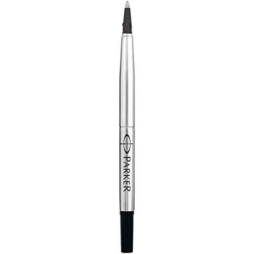 Parker - Recambio para bolígrafo estándar (punta media de 0,7 mm), color negro