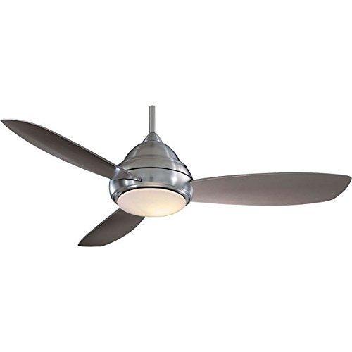 MINKA AIRE f517-bn, Concept i, 52, Ventilatore da soffitto, Nichel Spazzolato by