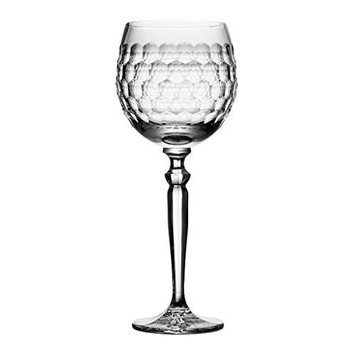 Crystaljulia 06718 - Bicchiere da vino in cristallo al piombo, 350 ml