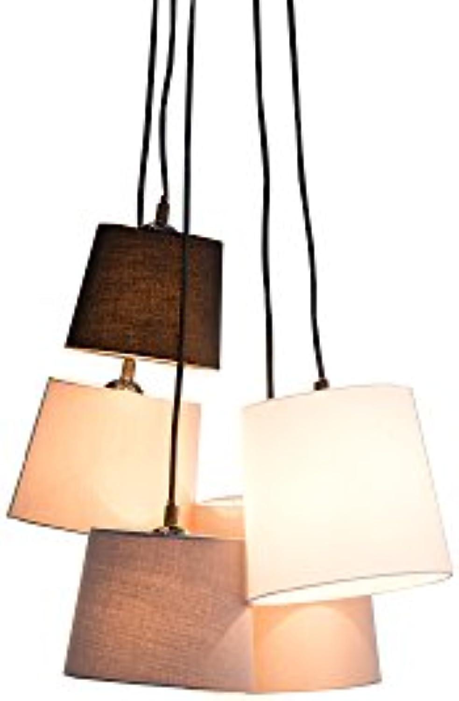 DuNord Design Hngelampe Pendellampe weiss schwarz grau Esszimmer Lampe ALICANTE verstellbar