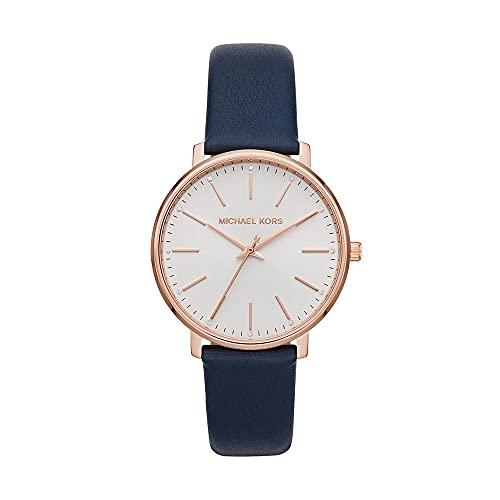 Michael Kors Reloj Analógico para De Las Mujeres de Cuarzo con Correa en Piel Genuina MK2893