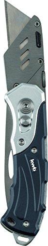 kwb Universalmesser 016921 (mit zwei Klingen, Taschenmesser und Cuttermesser, klappbar)