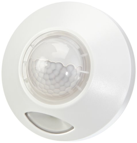 GEV 000360 LED Treppenlicht LLL 360 mit 120 Grad Bewegungsmelder Daemmerschalter batteriebetrieben Innen und Aussenbetrieb, weiß