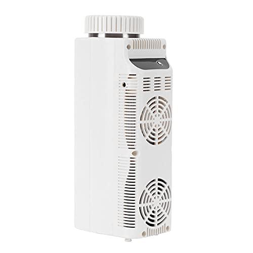JUNKUN Refrigerador portátil Mini refrigerador congelador 12V Enfriador de insulina Vehículo, automóvil, camión, Caravana, Barco, Viaje, Pesca, refrigerador portátil para Exteriores