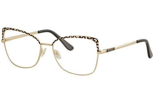 Guess Brille für Vista GU2716 001 gold rahmenmaterial: metall größe 56 mm brille für damen
