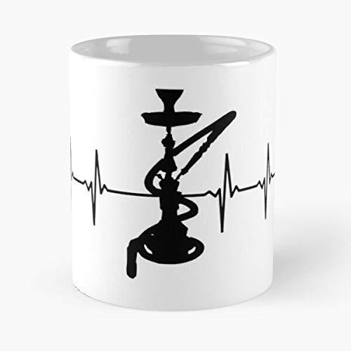 worldbrand Smoking Oriental Water Smoke Hookah Pipe Shisha Narghile Best 11 oz Kaffeebecher - Nespresso Tassen Kaffee Motive