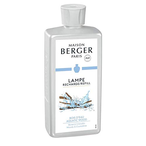 Lampe Berger Bois d'Eau Parfum (Aquatic Wood), 500ml