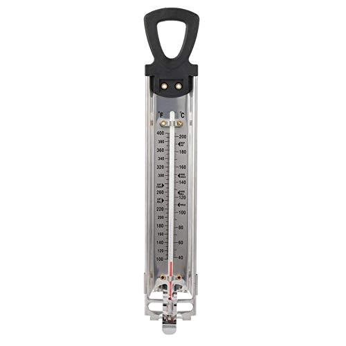 Voedselthermometer, Fahrenheit Celsius ℉/℃ Dubbele schaalweergave Huishoudelijke snoep Frituurthermometer met ophanghaak