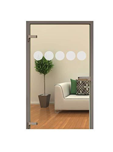 Glastür Aufkleber Tattoo Folie Glasdekor Fensterfolie Sichtschutz Wohnzimmer, Küche oder für alle Glasflächen Sichtschutzfolie für Türen GD10