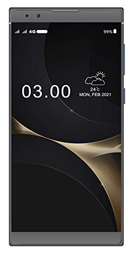 Xifo EL K20 4G Volte Smartphone with Fingerprit Sensor (3GB, 32GB) in Blue Colour