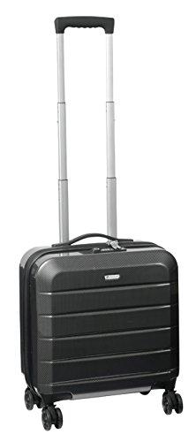 Aktenkoffer Business Reisekoffer Bowatex M 46x40x20cm 2,8kg Schwarz Laptop-Fach