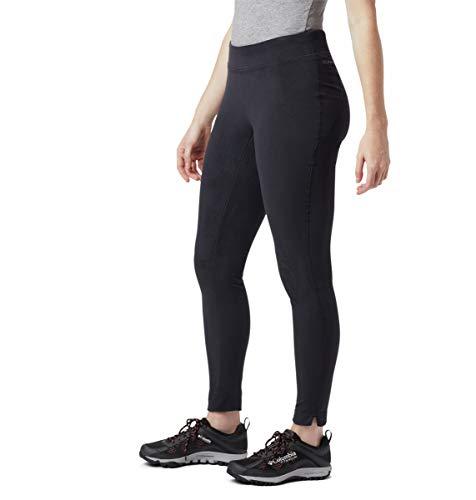 Columbia Women's Glacial Fleece Printed Legging, Black, Large x Regular