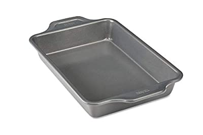 All-Clad Pro-Release Bakeware Pan, 13 In x 9 In x 2.25 In, Grey