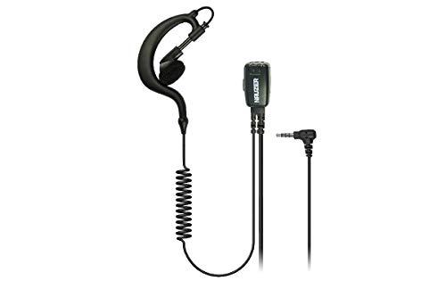 NAUZER PIN-29-Y Pinganillo Profesional Micro-Auricular para Walkie Talkie YAESU