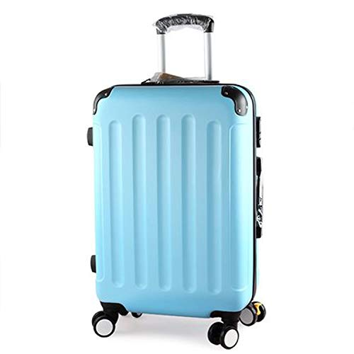 26 Inch Trolley Case/Bags Woman Travel Suitcase With Wheels Rolling Carry On Luggage,B,22