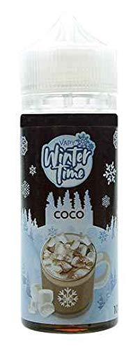 ELIQUID WINTER TIME - COCO - CACAO Y VAINILLA - VAPY SIN NICOTINA (100ML)