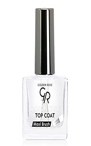 Top Coat Seche vite Quick Dry Maxi Brush de Golden Rose 10,5 ml