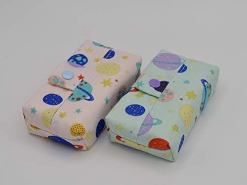 2er Pack TaTü-Tasche - bunte Planeten/Nachhaltig, Bunt und Plastikfrei