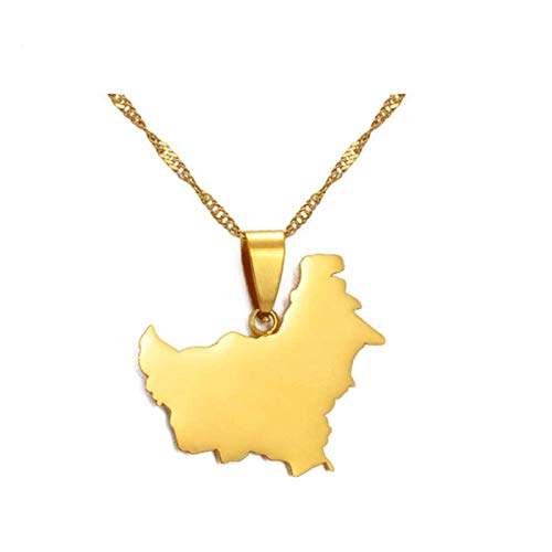 Collar De Mapa,Colgante Vintage Indonesia Mapa Exquisito Neckalces Sumatra Sulawesi Java West Papúa Kalimantan Island Charm Fashion Jewelry Man Women Ladies Girls,Kalimantana