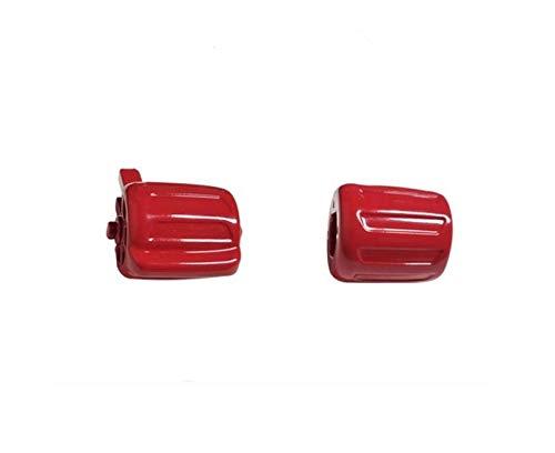 VXAOHONG Geeignete Fit for BMW 5er F10 5er GT 7er F02 Multifunktions-Lenkrad-Schalter, Tempomat Lenkrad-Knopf Knopf Gummi Ricambi Auto (Color : Red)