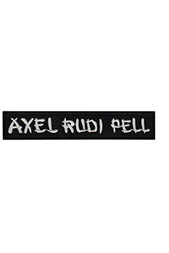 Axel Rudi Pell Hard Rock Und Heavy parche patch bordado con logotipo para planchar de hierro en apliques