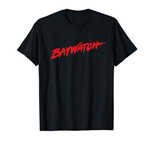 Baywatch Red Logo T-Shirt, 3 Colors for Men or Women