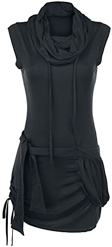 Forplay High Neck Dress Frauen Kurzes Kleid schwarz XL