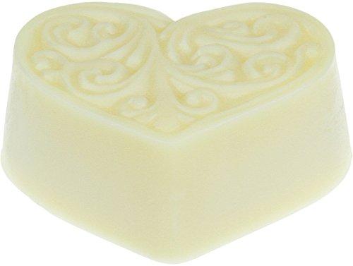 Greendoor Bodycremeherz Cocos, natürliche Body Butter 80g, reichhaltige Hautpflege mit BIO Kokos, BIO Sheabutter, BIO Kakaobutter, Natur Bodymelt, Naturkosmetik, Geburtstags-Geschenk, Muttertag