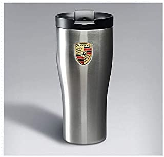 Genuine Porsche Crest Double Wall Stainless Thermal Tumbler